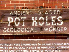 Ancient Glacier Pot Holes - Geological Wonder (Shelburne Falls, MA)