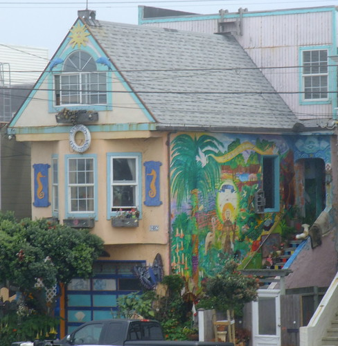 Architecture of the Outer Sunset along the Great Highway 30