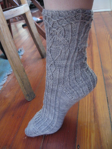 Rivendell socks, version the finished by you.