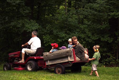 Grandpa's ride.