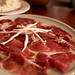 jamon iberico, bread sticks