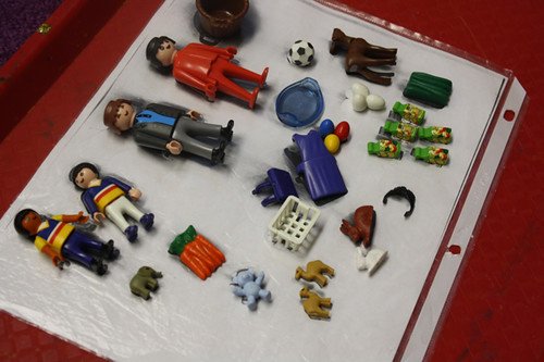 playmobil at preschool - 7