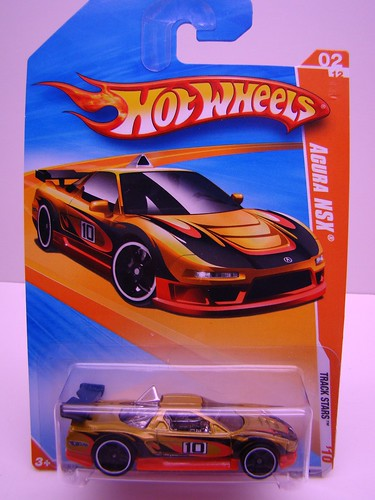 HWs Acura NSX Gold