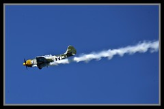 Aerobatics over BramblecBay-1
