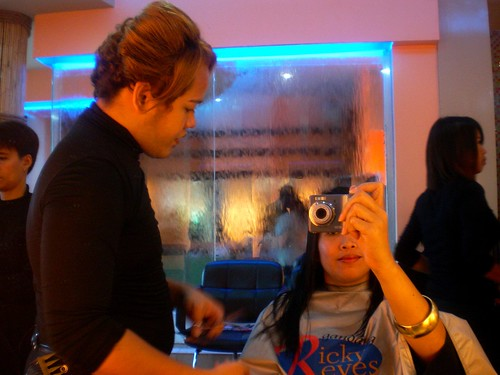 Salon Day with Ricky Reyes