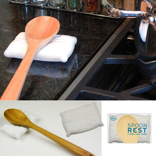 Because wooden spoons need to take a nap between all that stirring