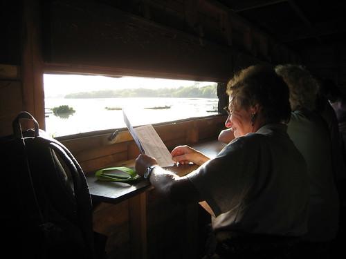 Looking Over Brent Reservoir from the Bird Hide