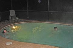Swimming pool at our Orlando Condo