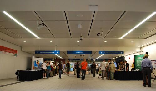 Oakridge Station lobby
