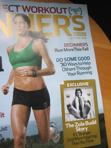 Runners World Oct 2009