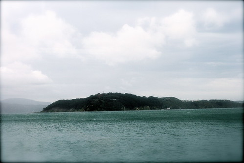 Friday: Somes Island from the train