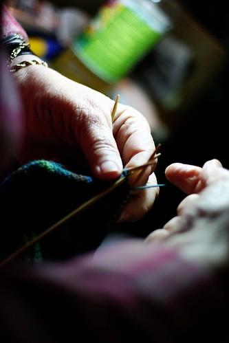 Bev Knitting