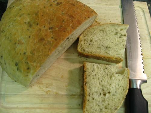 potato chive bread, yummm