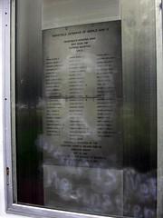 Vandalism of War Memorial