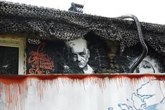 Jacques Derrida, painted portrait _DDC3338