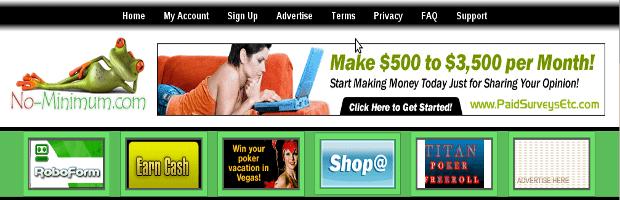 No-minimu, Ganhe dinheiro por ler emails