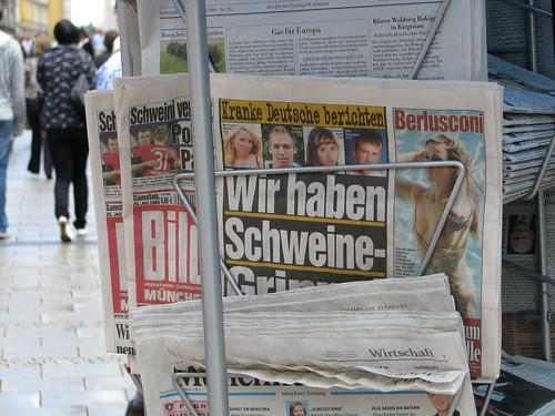 Bild-Zeitung in München