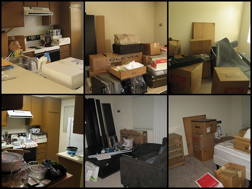 moving day, before and after