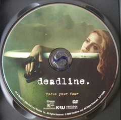 Deadline DVD label
