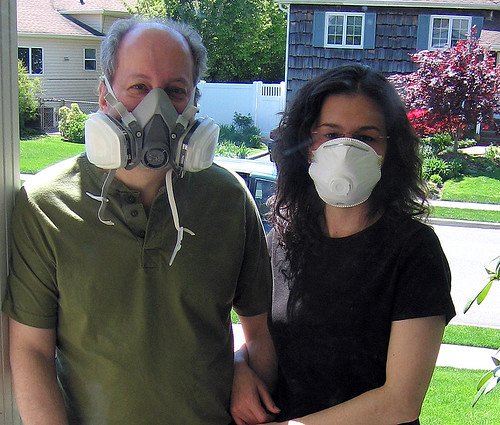 Gas Masks on Mother's Day