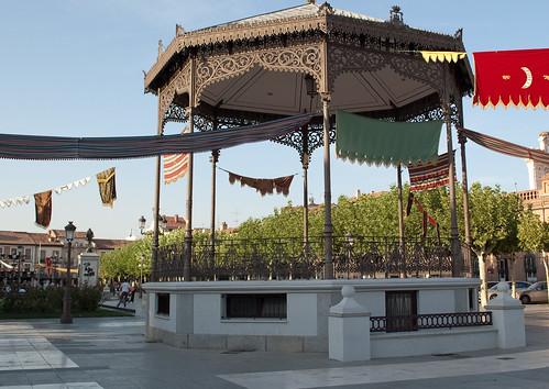 Plaza de Cervantes en la actualidad