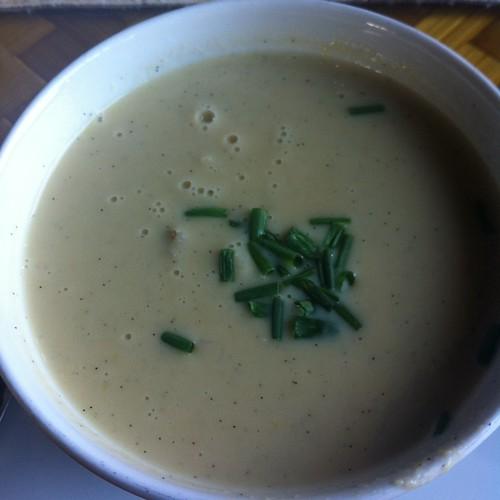 Crab Meat & Sweet Corn Soup @ Tidepools