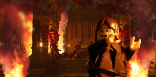 LEGO Apocalypsis diorama by Mark Kelso
