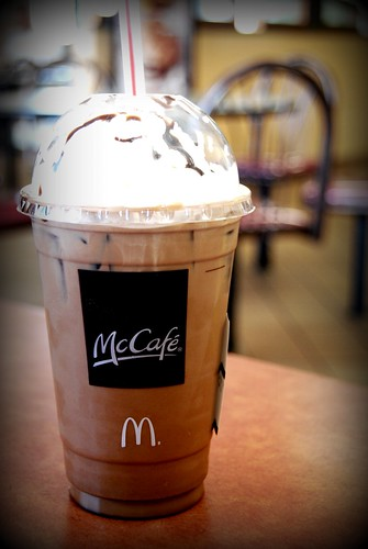 Iced Mocha at McCafe, McDonalds, Valencia by you.