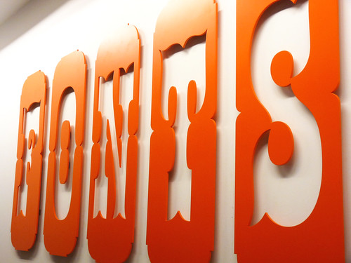 karen horton 拍攝的 Fonts on wall。