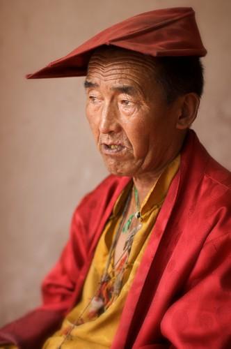 Portrait of a Tibetan Monk