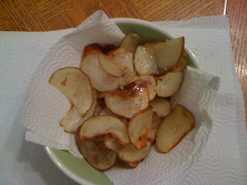 Homemade Soggy Potato Chip