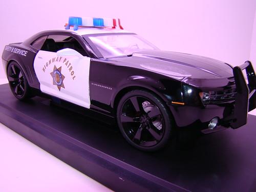Jada Toys Concept Camaro Police car (2)