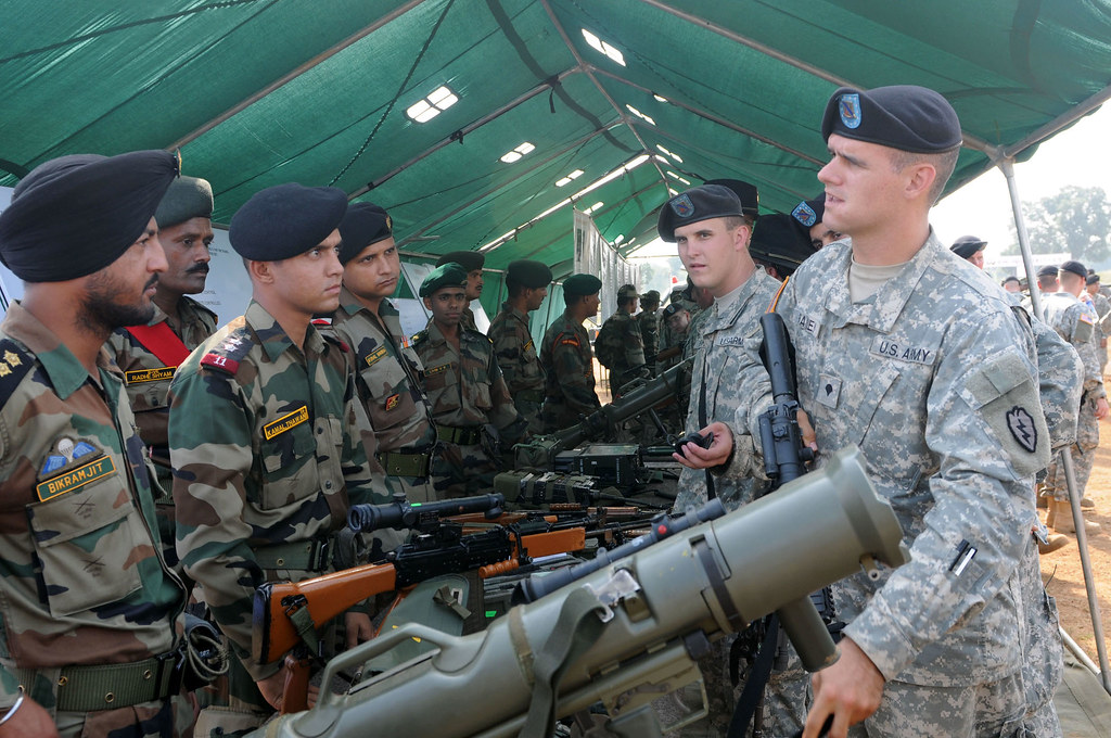 India USA Joint Military Exercises