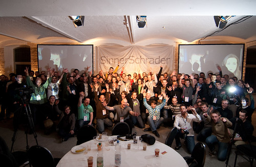 The awesome crowd at JSConf.EU