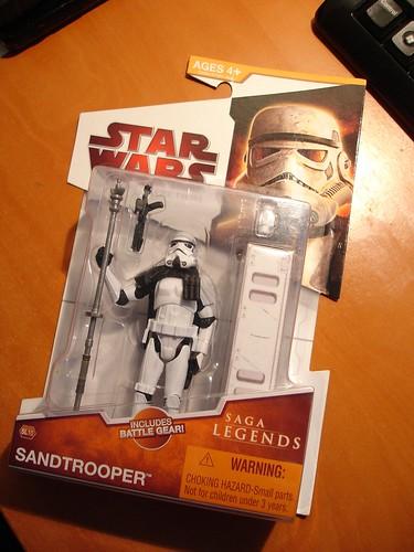 Sand stormtrooper