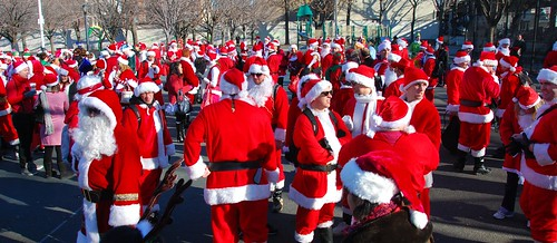 Santacon 2009 - Astoria, Queens NYC