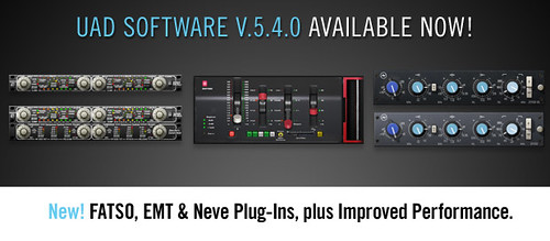 UAD Software v5.4