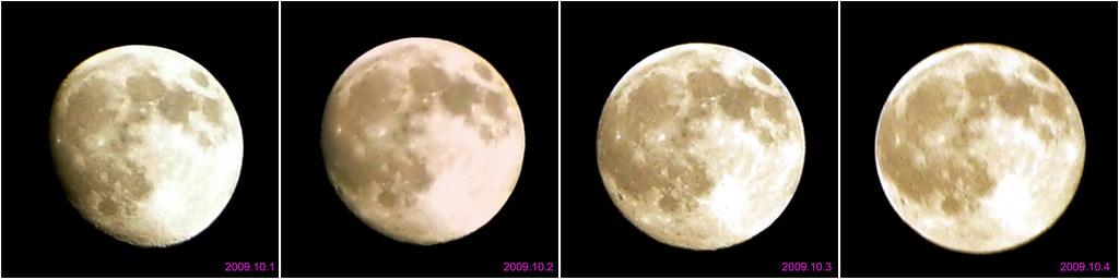 中秋節期間的月亮2