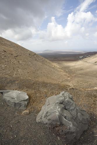 Playa Blanca from Fermes