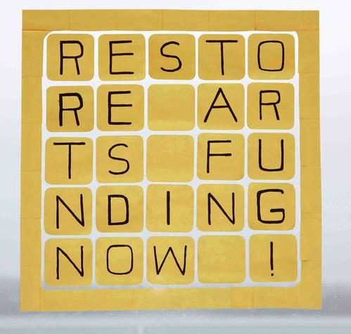 Restore Arts Funding Now