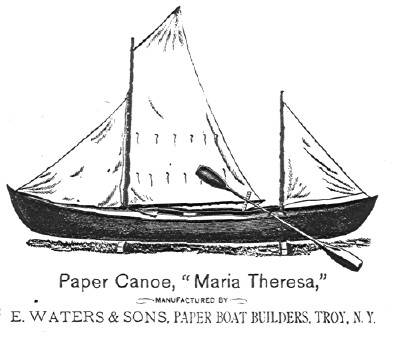 Paper Canoe Craft