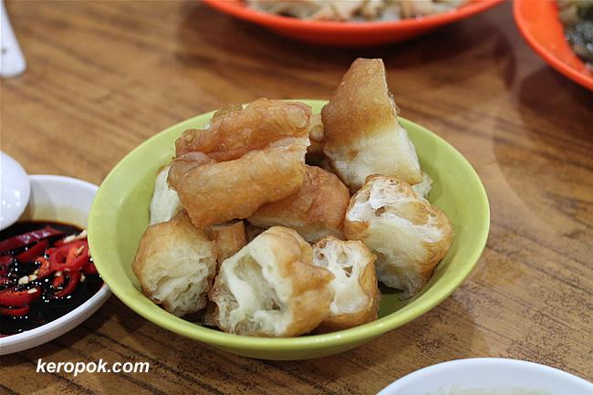 You Tiao - Fried Dough Strips