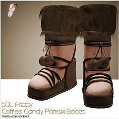 Kookie - Pomski Coffee Candy Boots