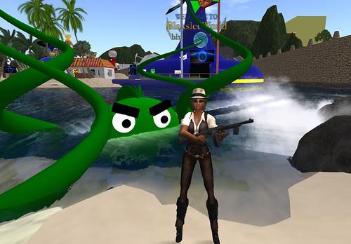 I ain't afraid of no squid