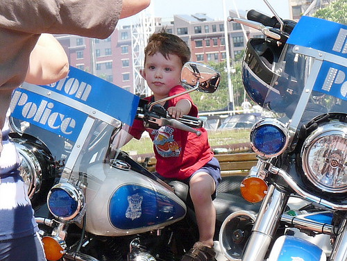 Boston PD's littlest rookie