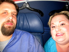 Flying first class for free!  Thank you Dividend Miles!