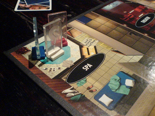 Modern Cluedo: Quick! To The Spa!