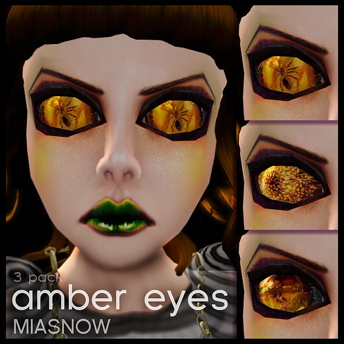 AMBER Eyes Display Poster