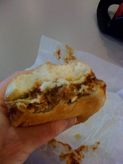 Pulld Pork sandwich from Smokin Pig