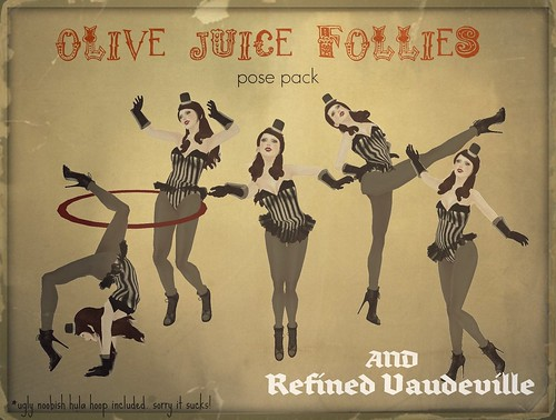 Olive Juice Follies and Refined Vaudeville